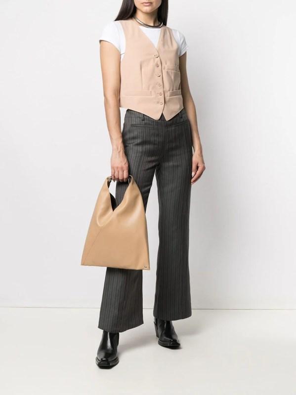 Image 2 of MM6 Maison Margiela single-breasted waistcoat