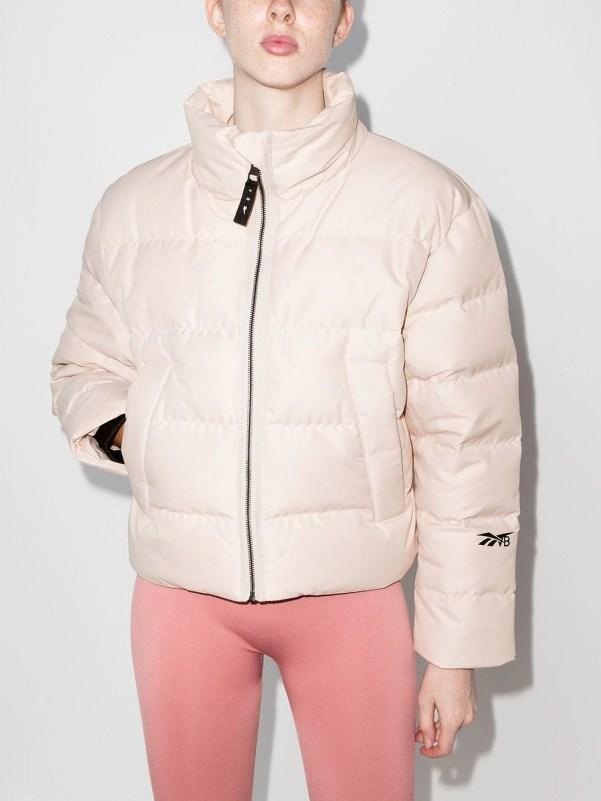 Reebok x Victoria Beckham cropped puffer jacket