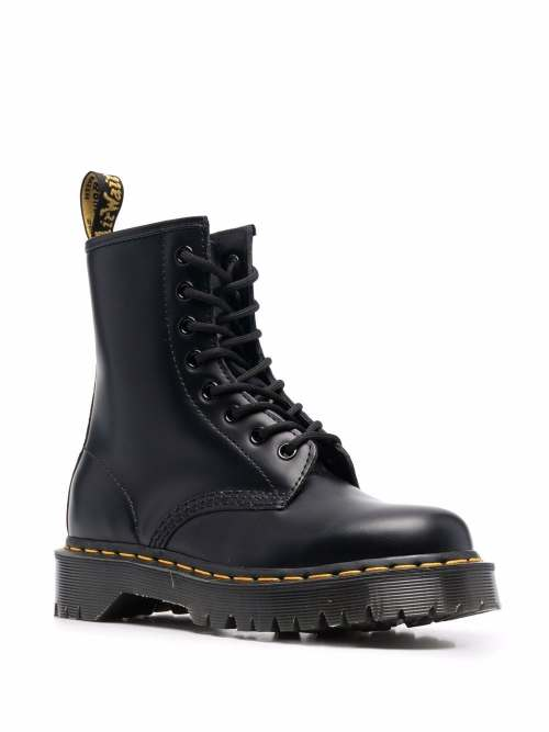 Image 2 of Dr. Martens 1460 Bex smooth leather boots