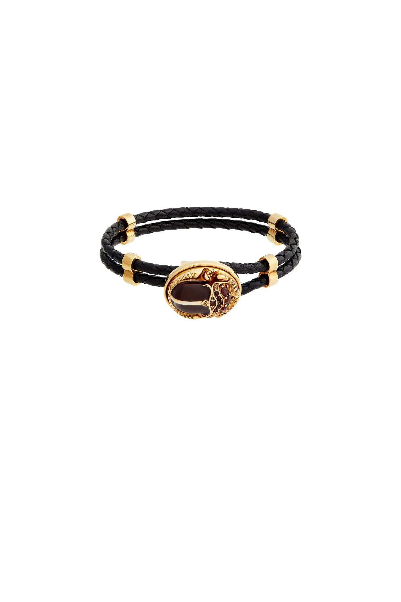 Braided Crest Bracelet