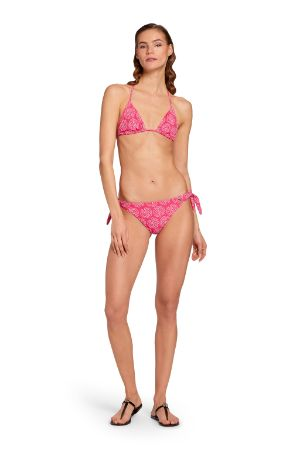 Top bikini con Monogram RC