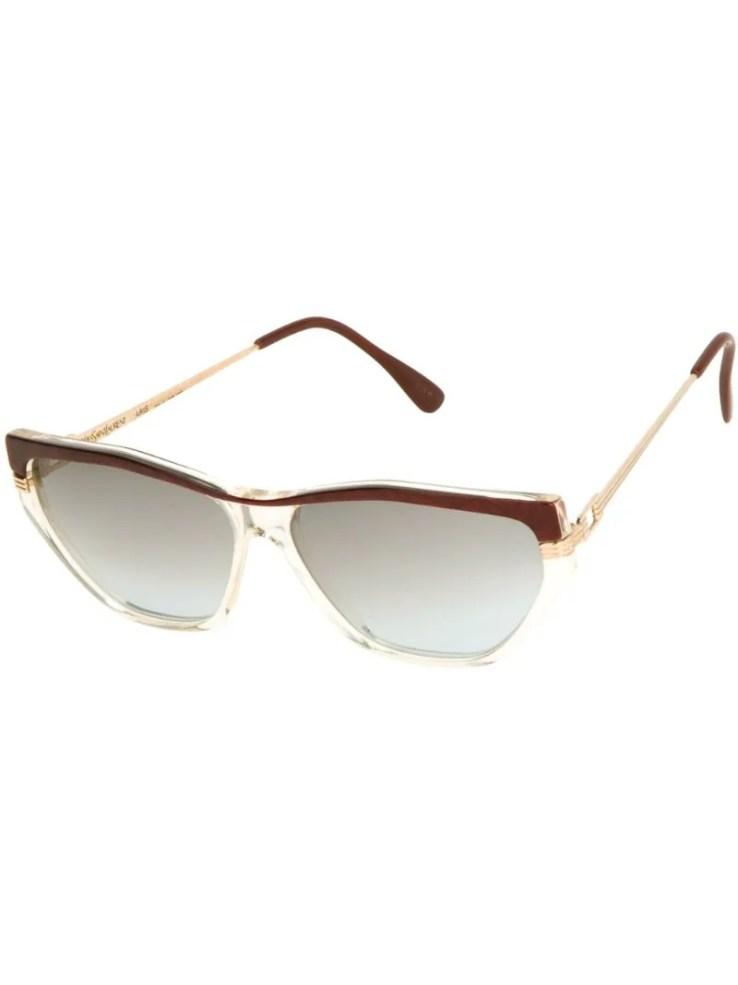 Yves Saint Laurent vintage bi-colour 80s sunglasses