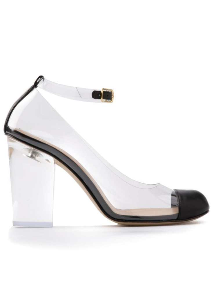 RITCH ERANI NYFC transparent heels