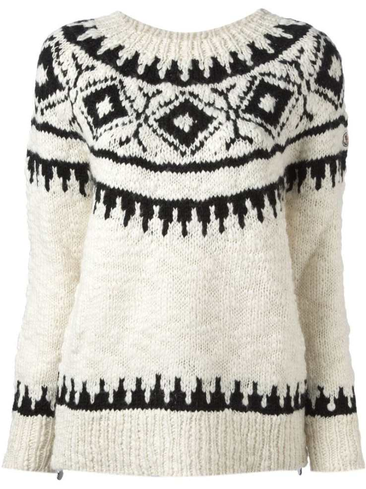 Moncler Fair Isle sweater