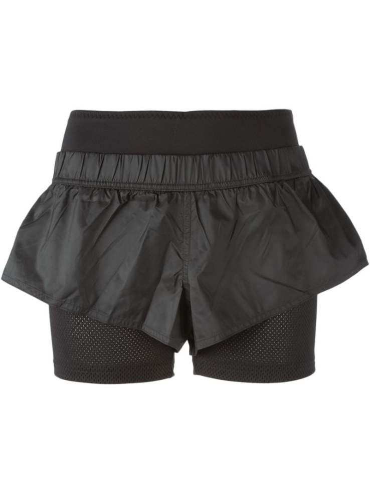 ADIDAS BY STELLA MCCARTNEY layered running shorts