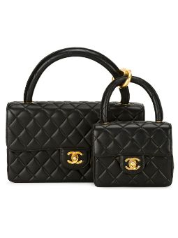 large and small twin totes