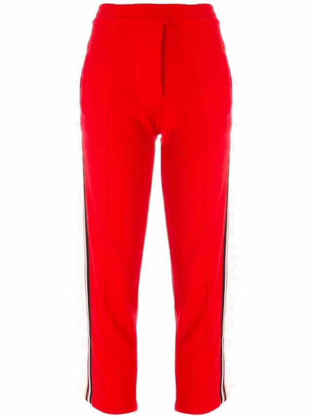 Laneus - frill side panel track pants, $432