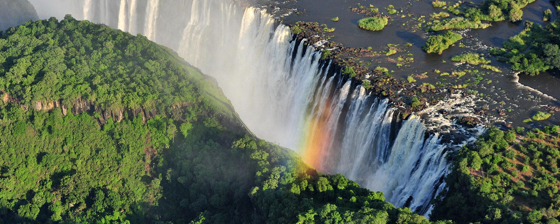 Fall Road Wallpaper Best Victoria Falls Zambia Guide For 2019 Go2africa Com
