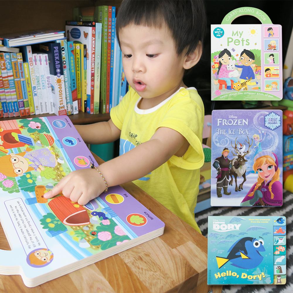 迪士尼英文新書來囉♥♥♥ 冰雪奇緣/海底總動員透過卡通人物加深孩子共讀的印象♬ - 《媽咪愛》育兒好物 ...