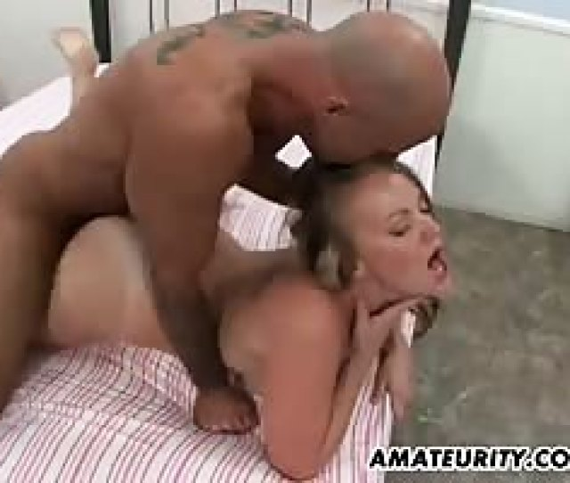 Busty Amateur Girlfriend Action With Cum In Mouth