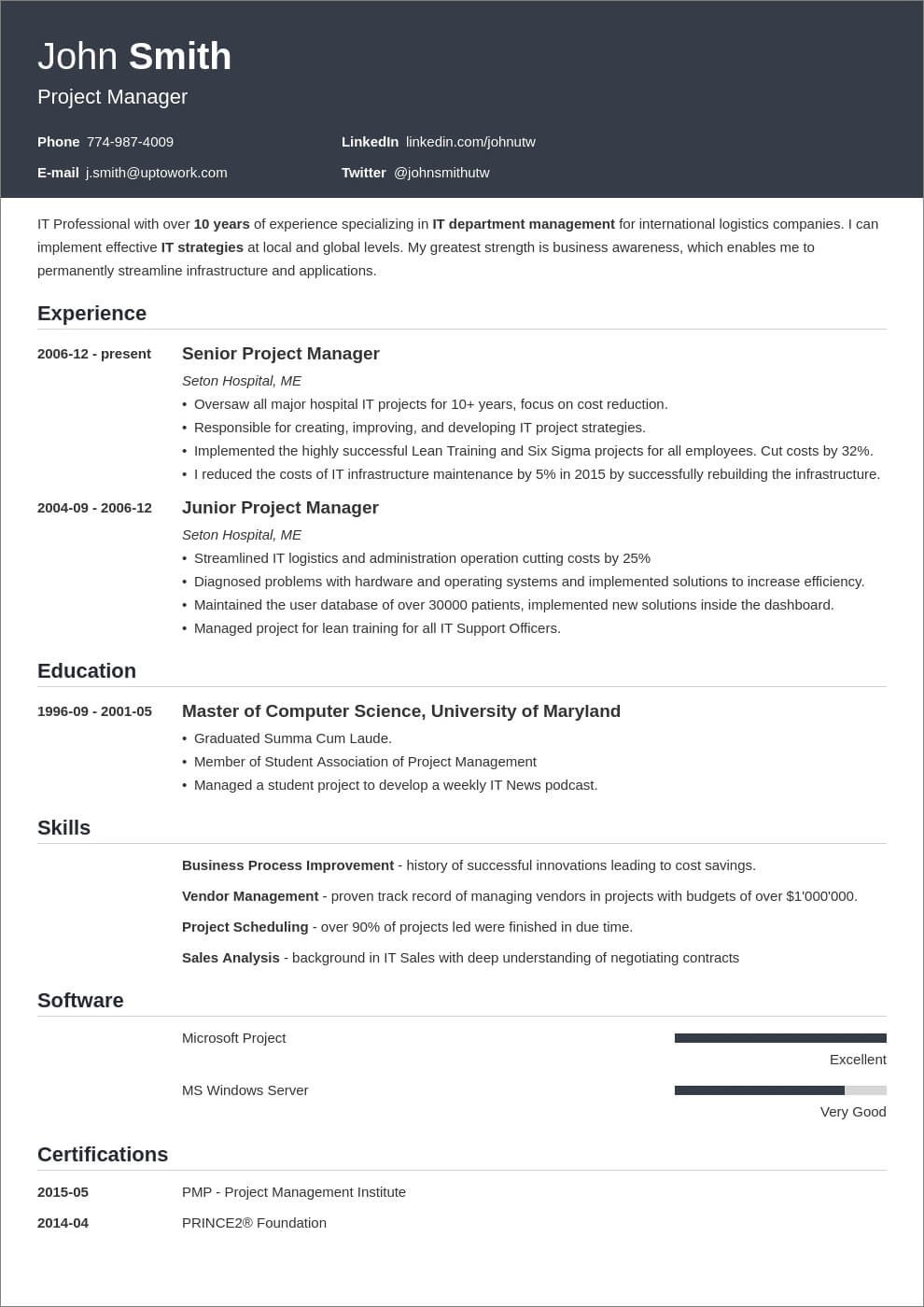 Chronological resume, functional resume, and combination resume. 11 Ats Friendly Resume Templates That Beat The Bots In 2021
