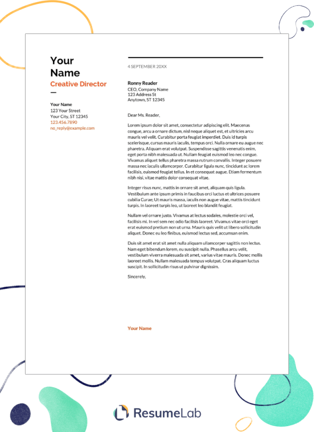 35 Er Letter Templates To Edit