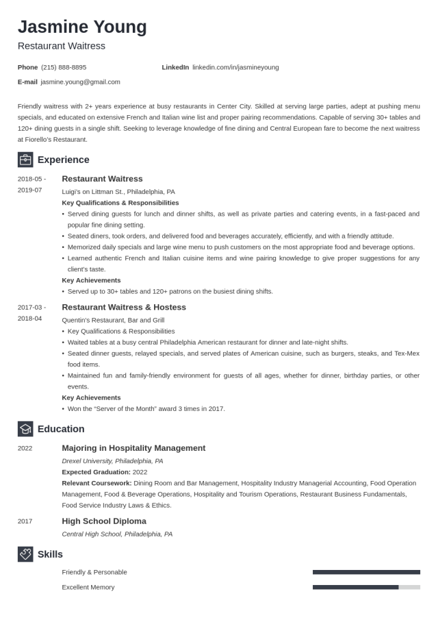 Resume Examples for Teens (Template & 27+ Tips)