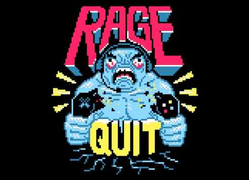 RAGE QUIT by Aled