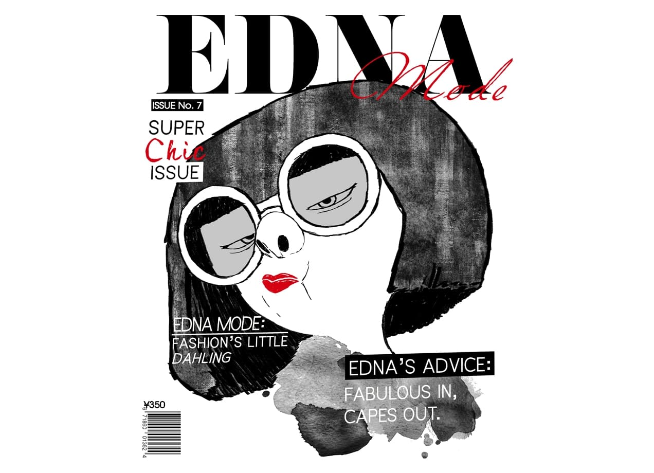 Edna Mode Issue by ryeofcali  Threadless