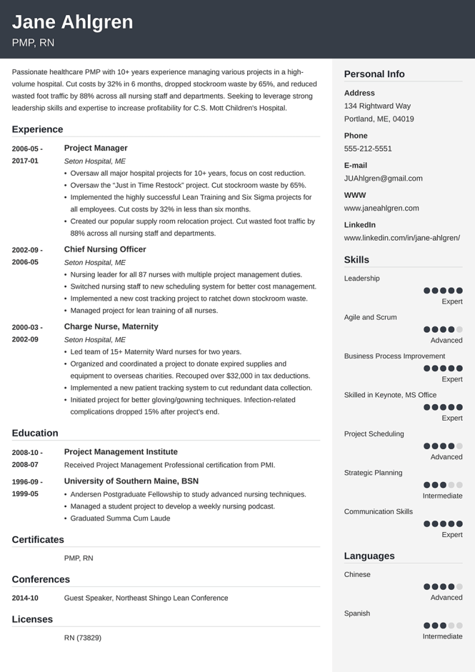 500 Good Resume Examples That Get Jobs
