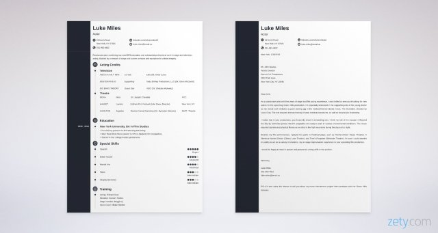 Acting Cover Letter: Samples, Proper Format, & Writing Guide