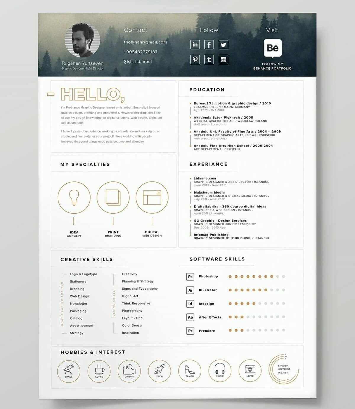 Best Resume Templates 15 Examples to Download  Use Right