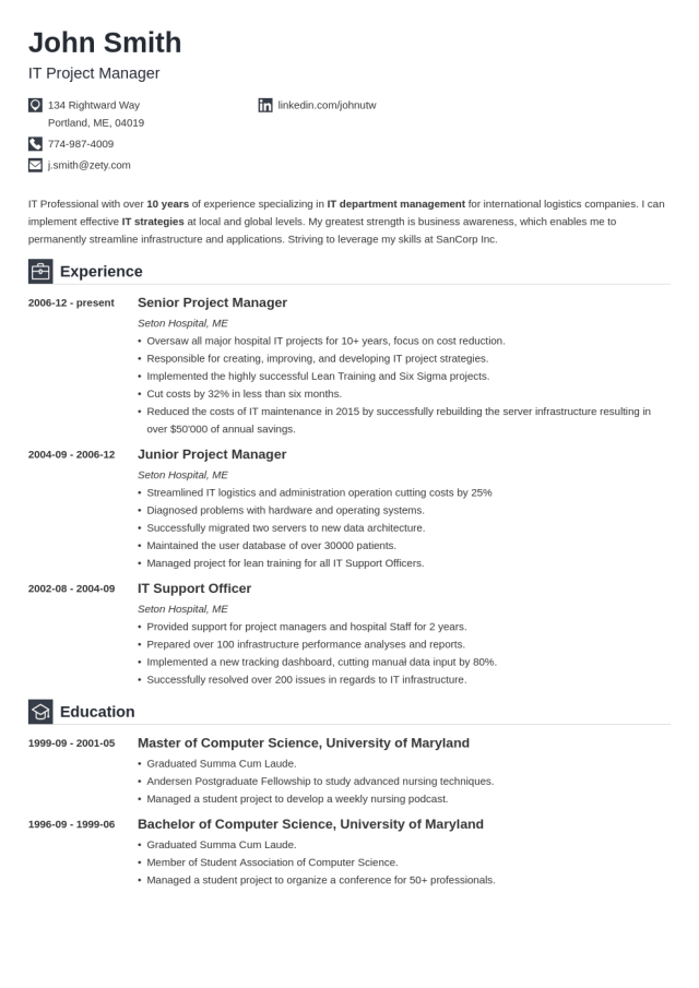 Best Resume Templates for 29 (29+ Top Picks to Download)