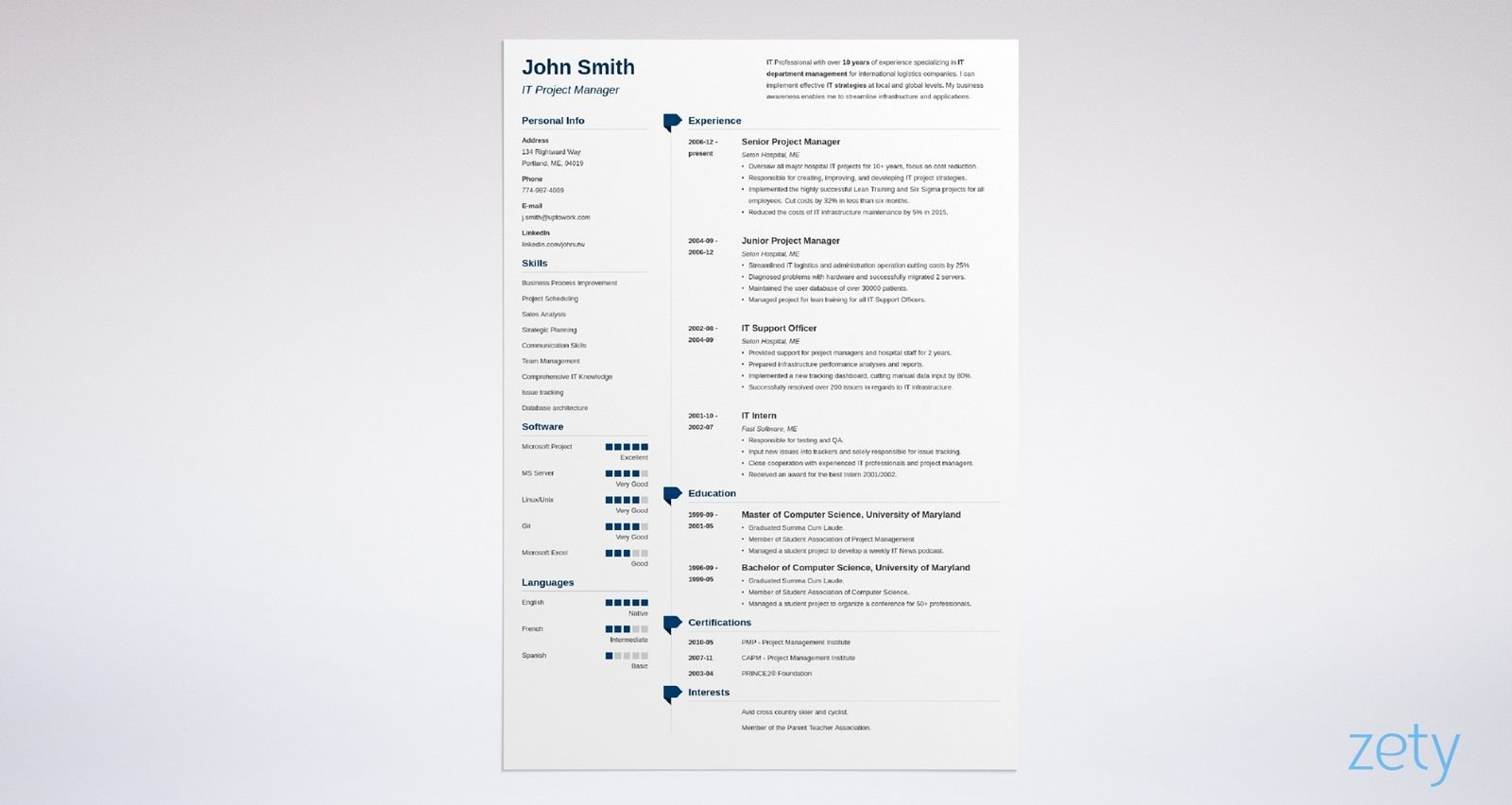 Create your resume in minutes with indeed's free resume builder. 15 Blank Resume Templates Forms To Fill In And Download