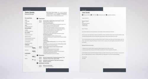 small resolution of cover letter and resume template for an electrician