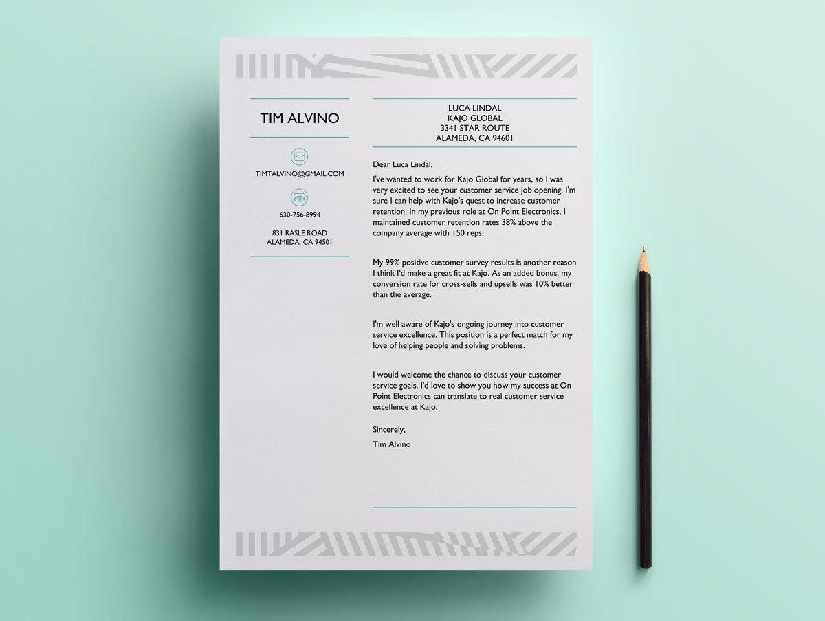 12 Cover Letter Templates for Word Best FREE Downloadable Picks
