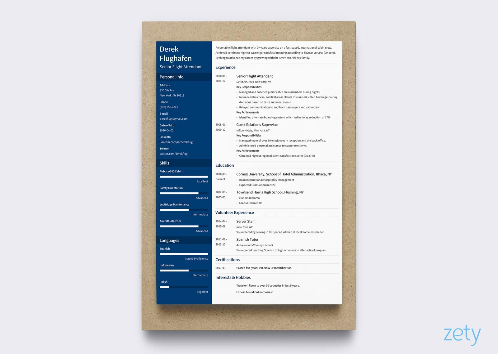 Creative Resume Templates questionnaire cover letter