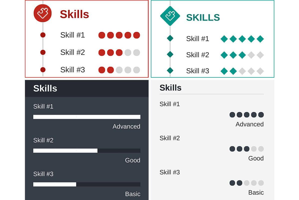 Creative Resume Skills Examples