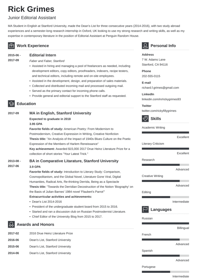 27+ Entry Level Resume Examples, Templates & How-To Tips