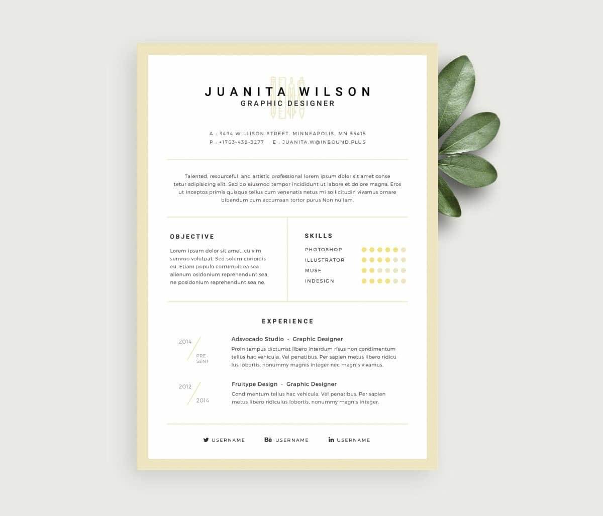 Free Resume Templates: 17 Downloadable Resume Templates to Use