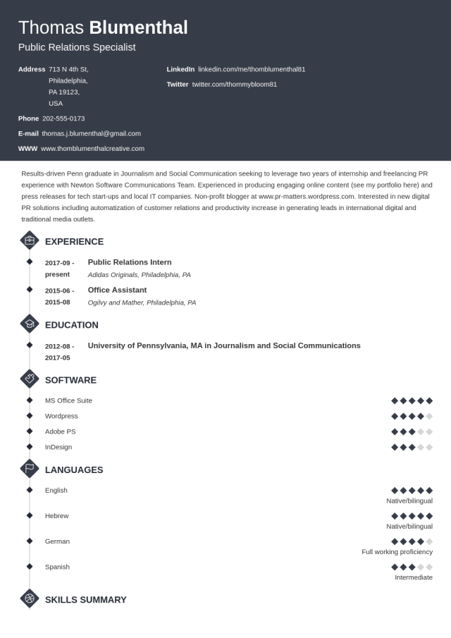 Functional Resume: Examples & Skills Based Templates