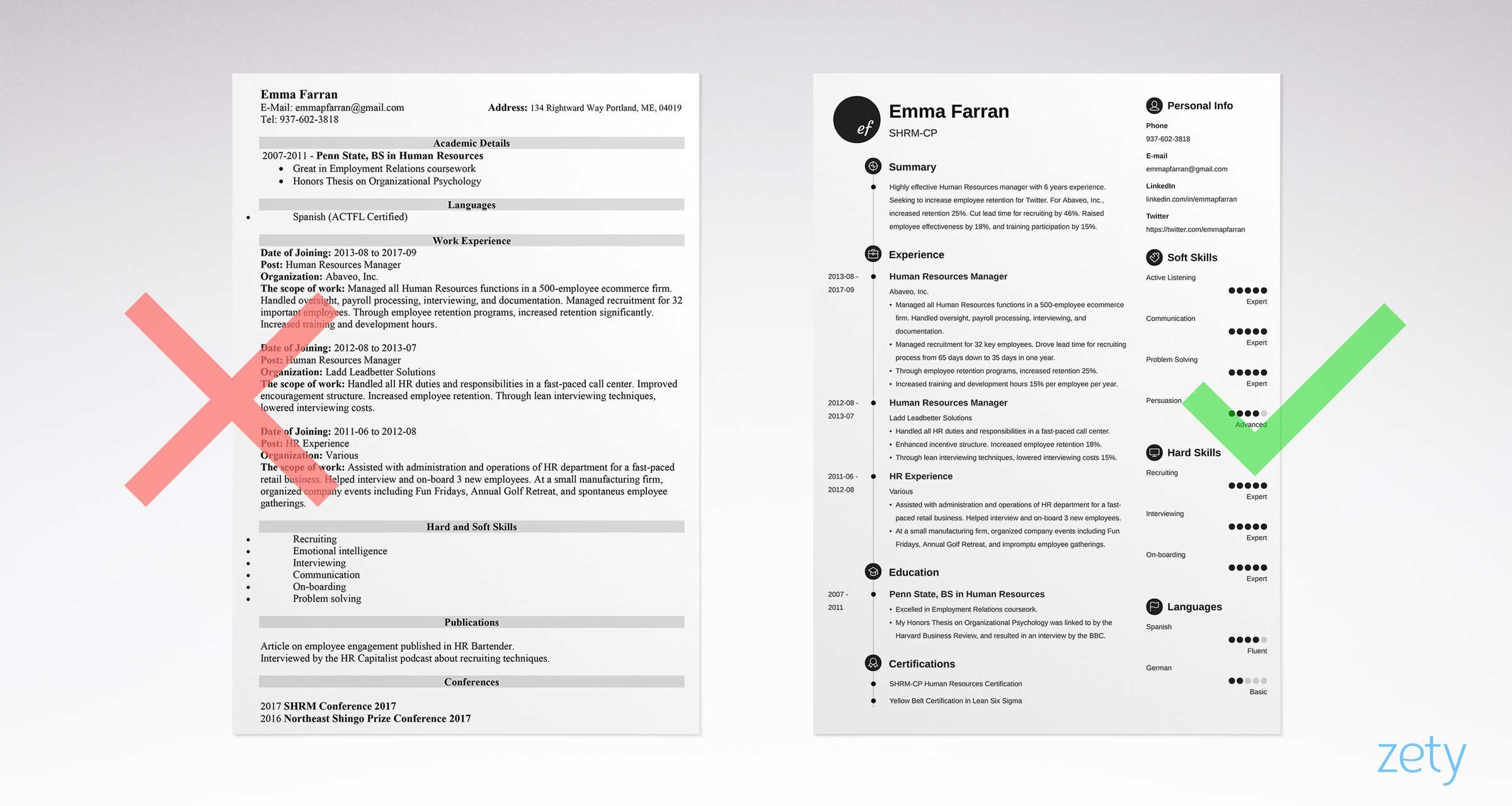 Infographic Resume Templates 13 Examples To Download
