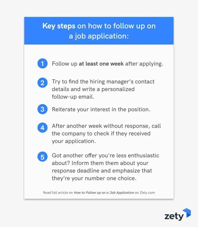How to Follow up on a Job Application (with Email Samples)