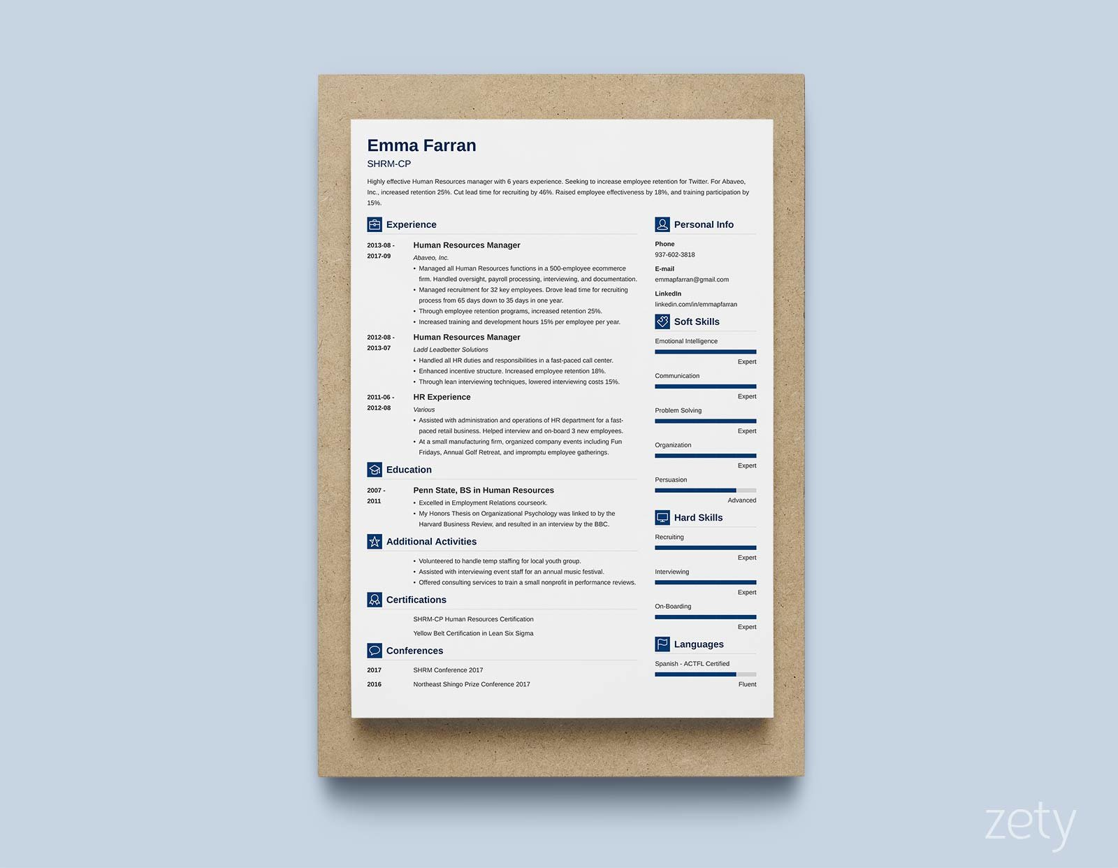 Examples Of Current Resumes Modern Resume Templates 18 Examples A Complete Guide