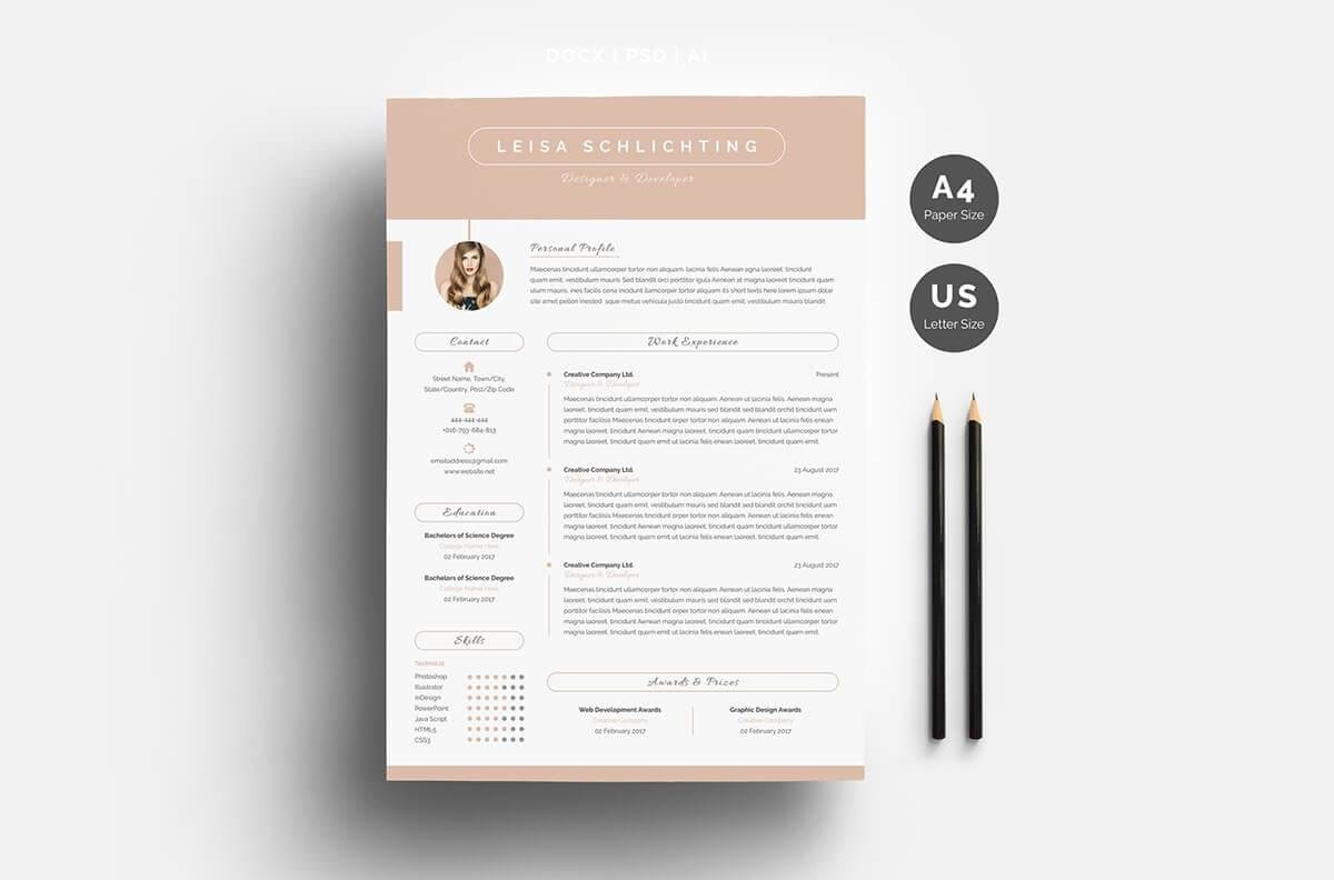 Pages Templates Resume One Page Resume Templates 15 Examples To Download And Use Now