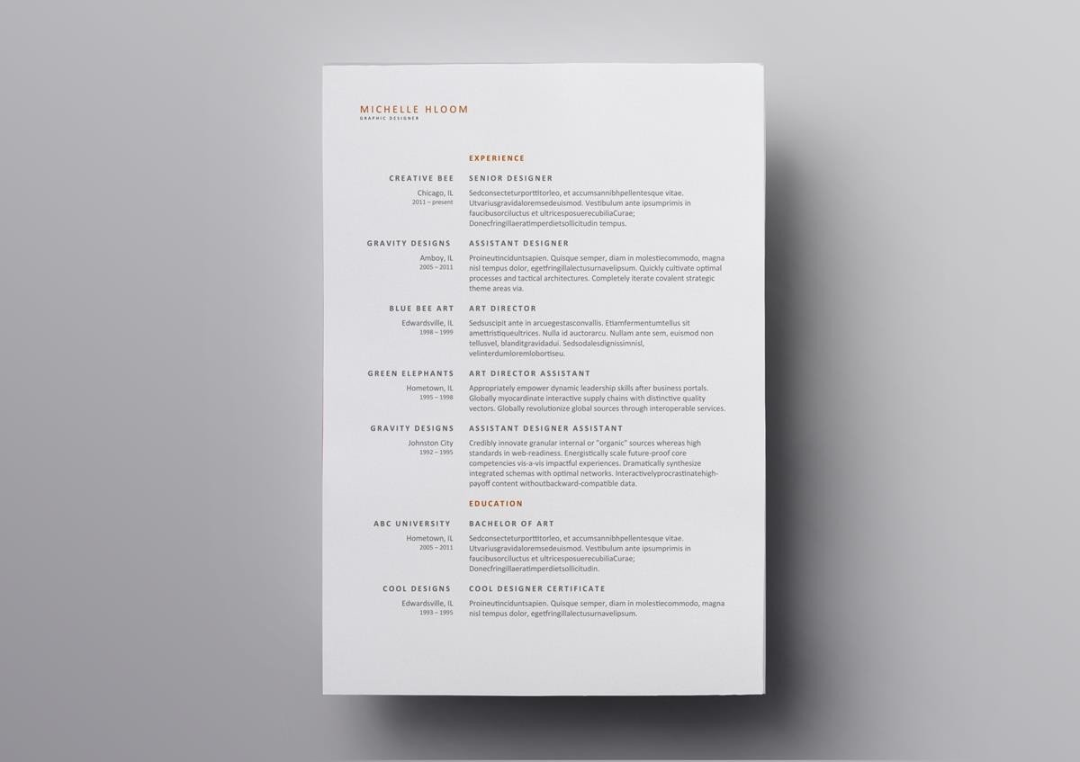 Simple Free Resume Template 10 Best Open Office Resume Templates To Download Use For Free