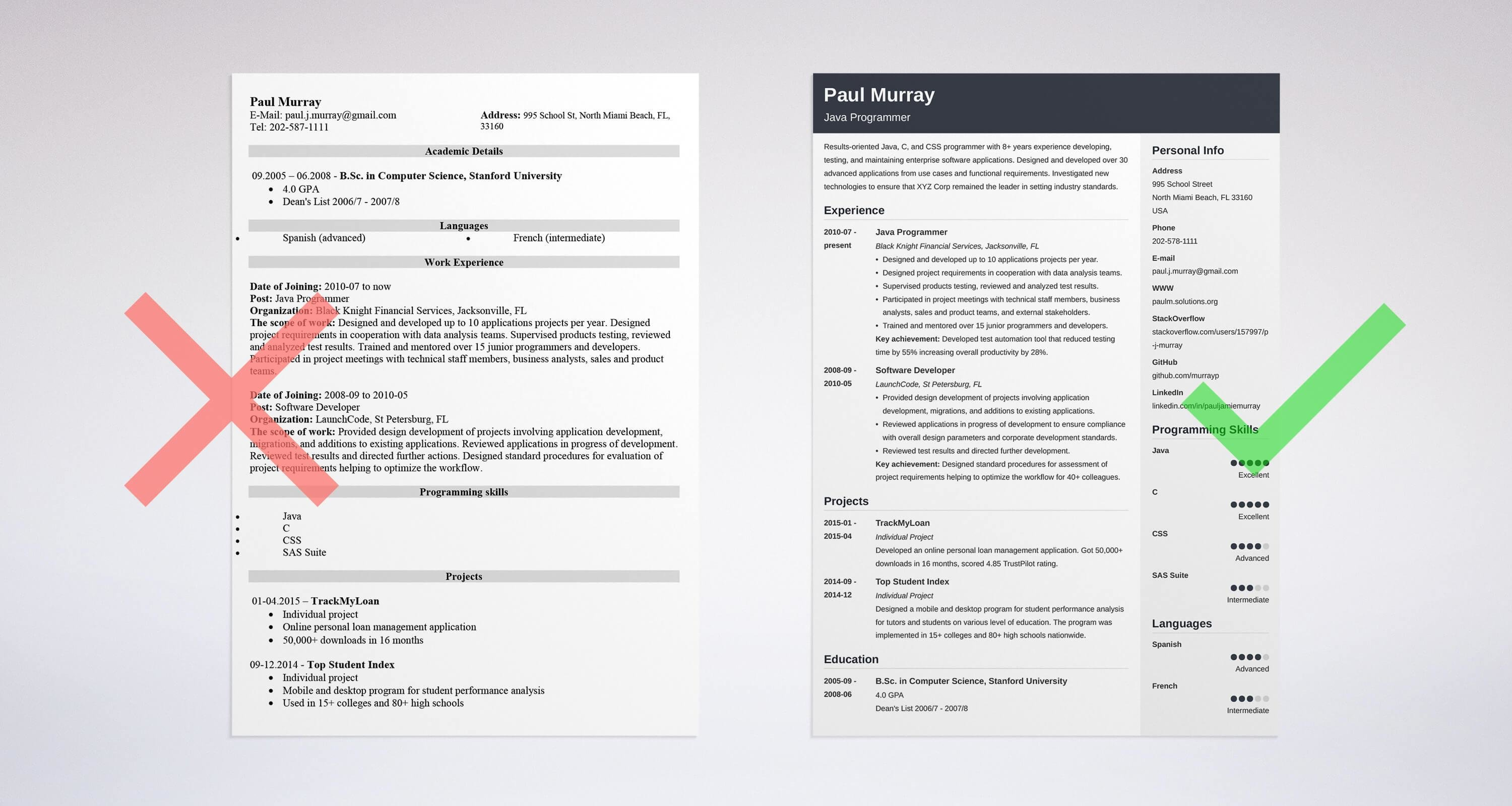 Programmer Resume Examples Template Amp Guide