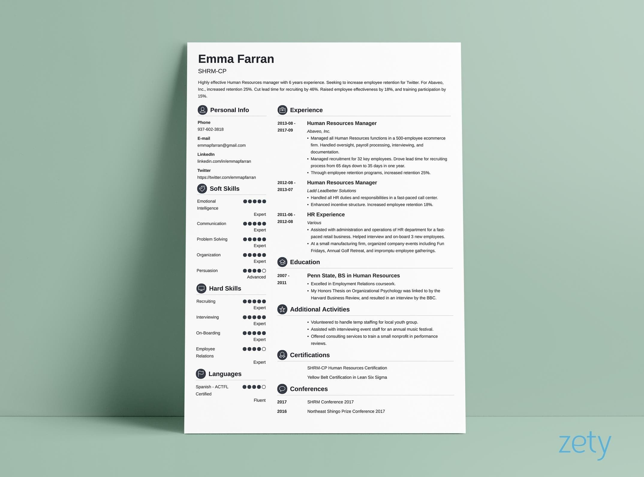 Resume Layout Examples Resume Layout 20 Templates Examples Complete Design Guide