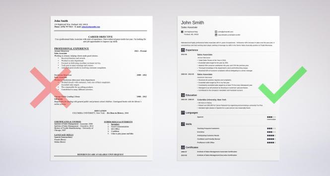 Professional Resume Summary Examples