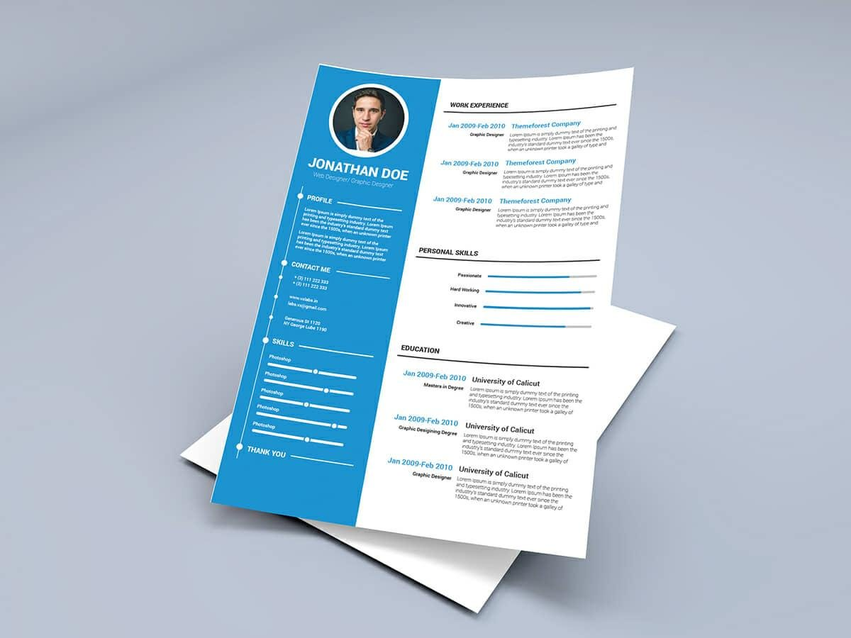 Microsoft Word Templates For Resumes Free Resume Templates For Word 15 Cv Resume Formats To Download