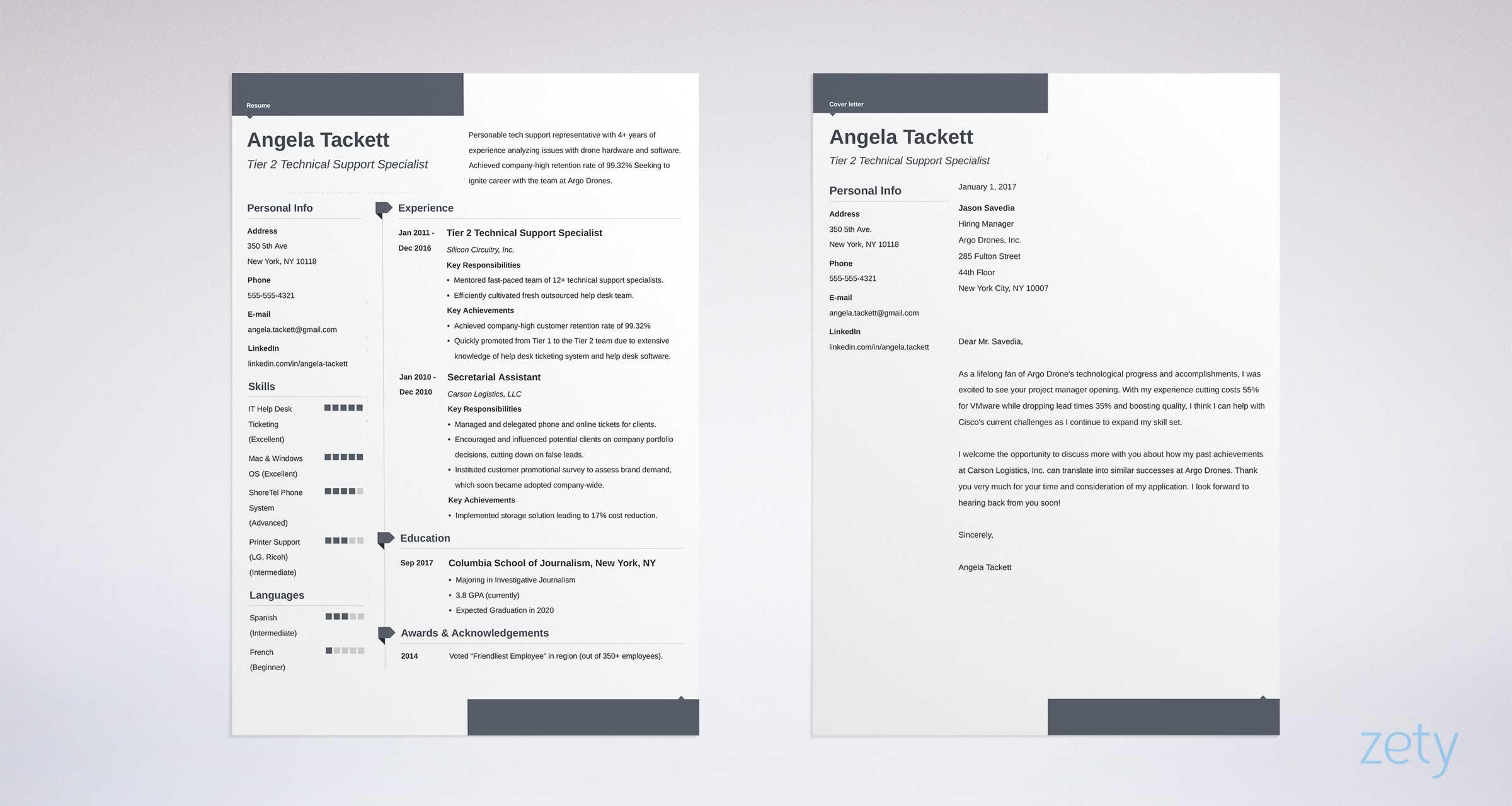 Modern Resume Templates Word ] | Modern Resume Templates Word ...
