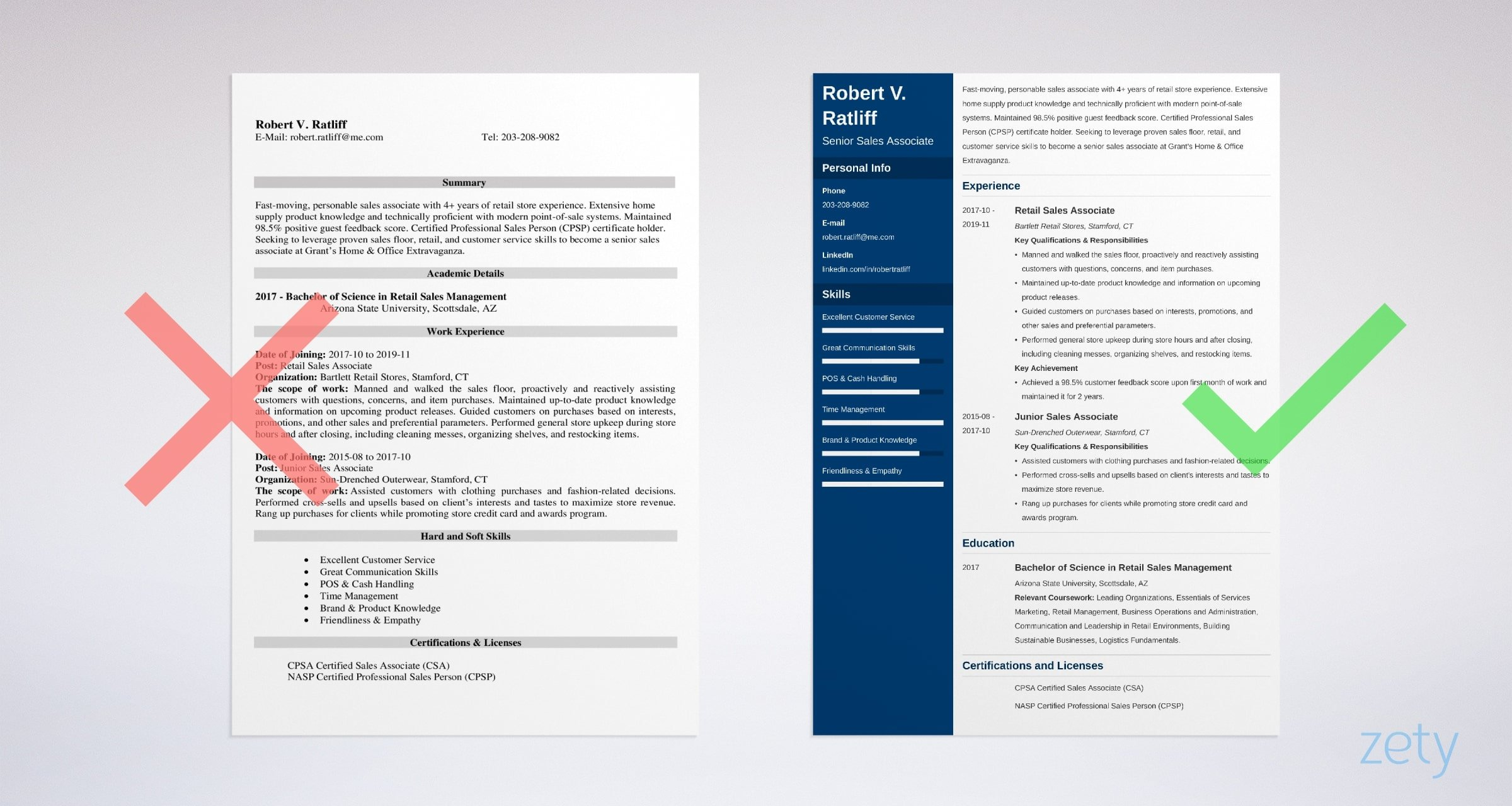 Sample Of Sales Associate Resume Sales Associate Resume Image Collections Download Cv