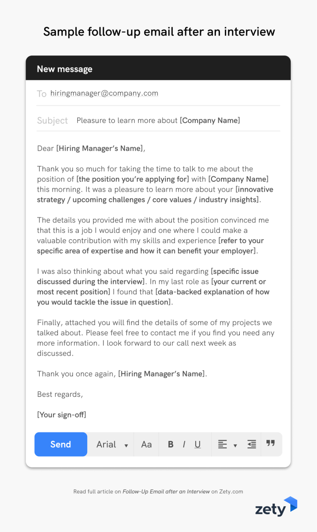 Follow-Up Email after an Interview: 10 Samples & Templates That Work