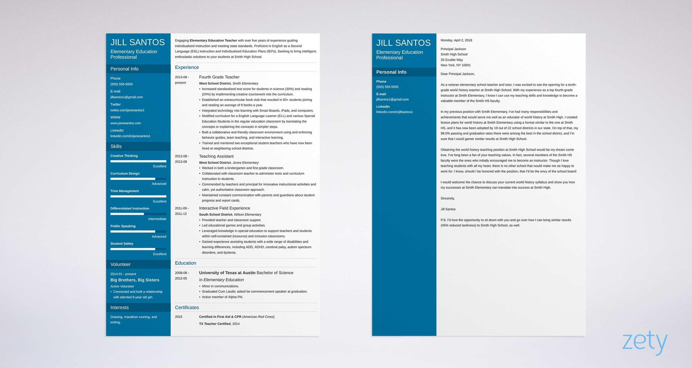 Teacher Cover Letter Sample & Complete Writing Guide 20