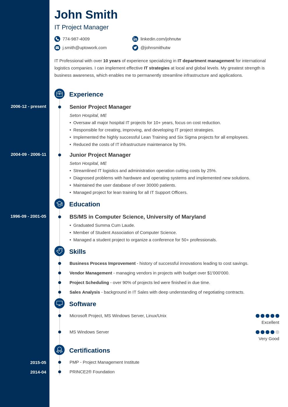 model cv pour job dete format pdf