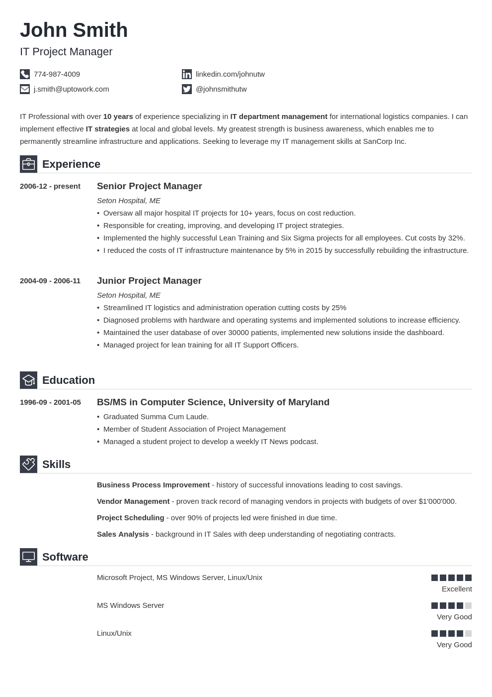 Example Resumes Good Resume Examples For Jobs 99 Free Sample Resumes Guides