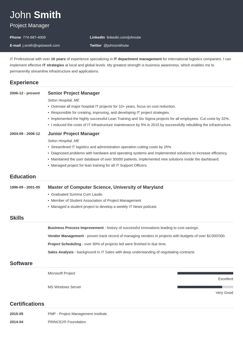 muse resume templates