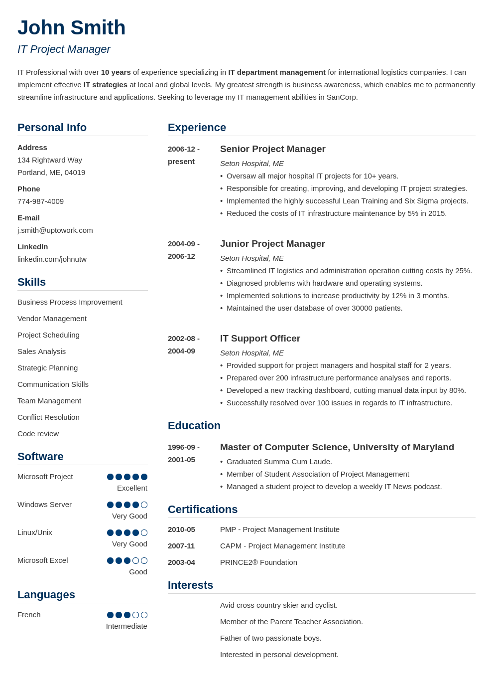 Resume Examples For Free Good Resume Examples For Jobs 99 Free Sample Resumes Guides