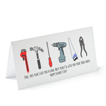 Tool Puns For Fathers Day