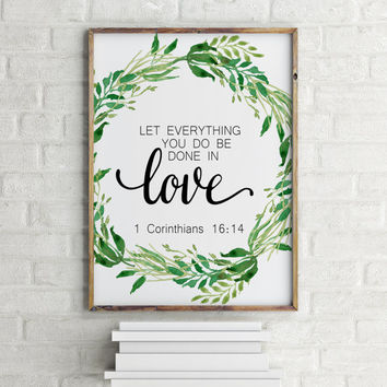 Best Bible Verse Home Decor Products on Wanelo